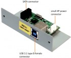 ADSAU31R SATA to USB 3.1