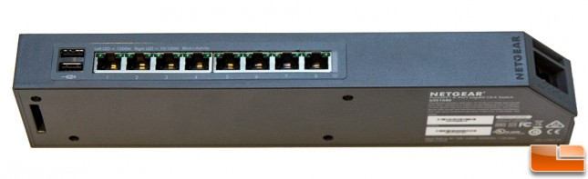 Netgear GSS108E 8-Port Gigabit Click Switch