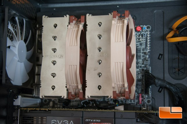 Noctua NH-D15 Installed 2