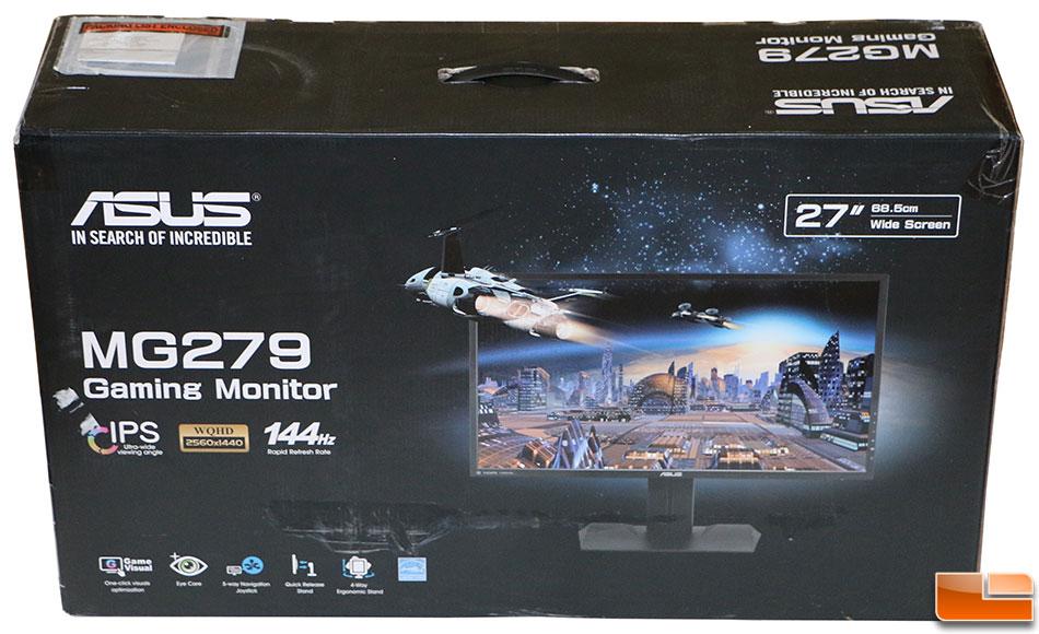 ASUS MG279Q 27-inch IPS FreeSync Gaming Monitor Review - Legit