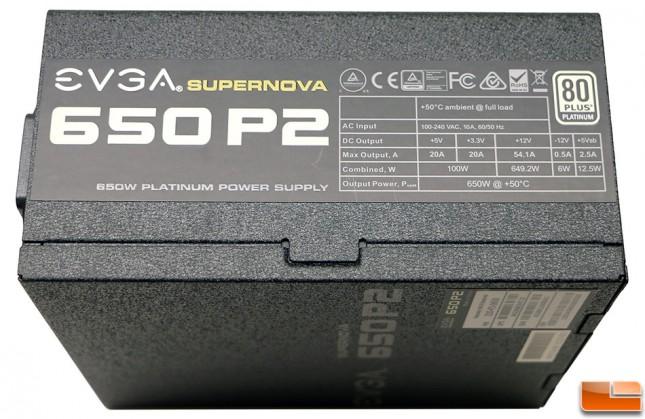 EVGA SuperNOVA 220-P2-0650-X1 PSU