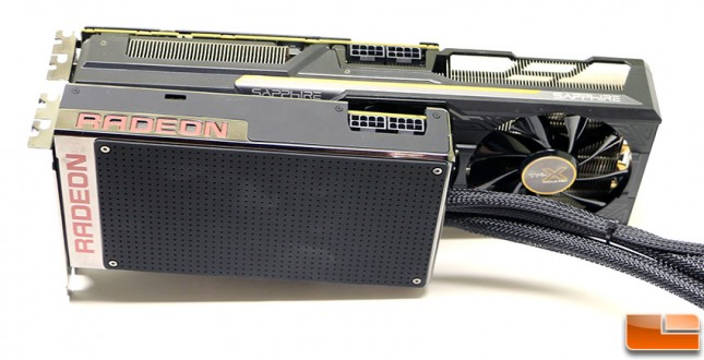Radeon Fury and Fury X Video Cards