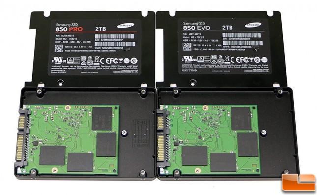 Samsung SSD 850 Inside