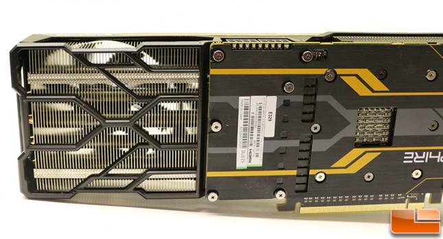 Sapphire Tri-X Radeon R9 Fury GPU Cooler