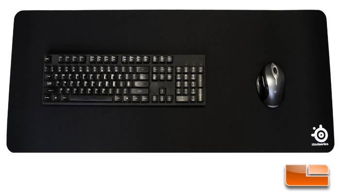 Steelseries Qck Xxl Gaming Mousepad Review Legit Reviews