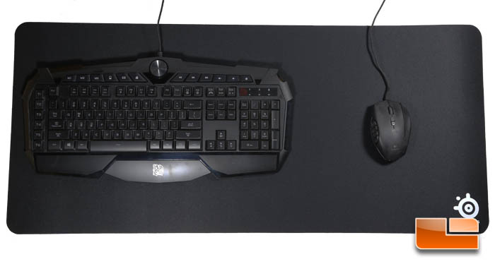 Steelseries Qck Xxl Gaming Mousepad Review Legit Reviews