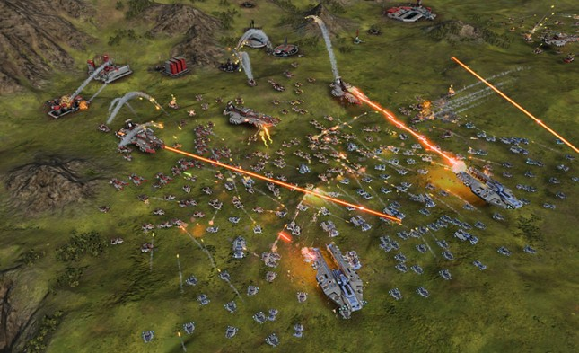 Ashes of the Singularity Battle