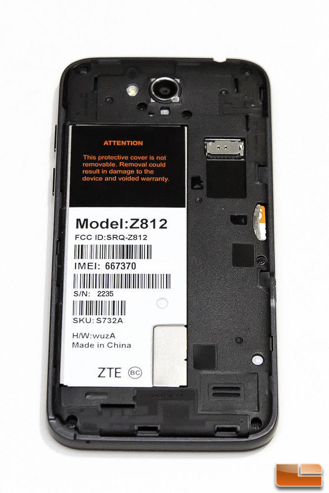 zte maven battery only thing can