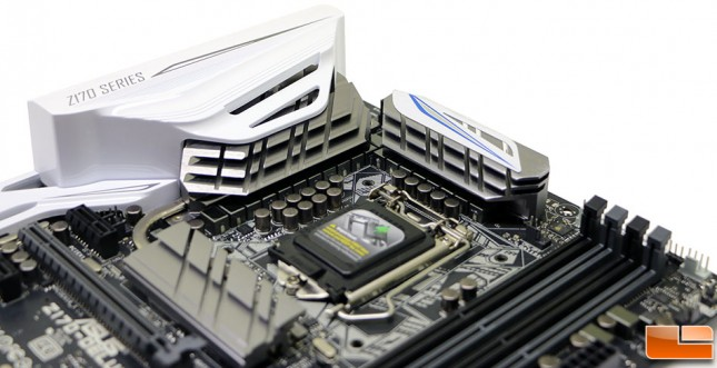 ASUS Z170 Deluxe Motherboard Power Phases