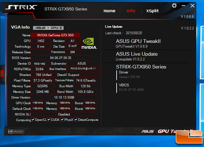 geforce gtx 950 drivers windows 10