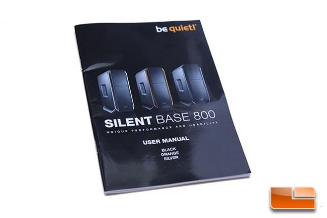 silentbase800manual