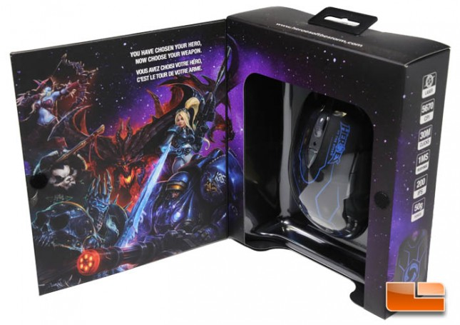 SteelSeries Heroes of the Storm Gaming Mouse