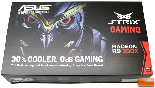 ASUS Radeon R9 390X STRIX-R9390X-DC3OC-8GD5-GAMING 8GB