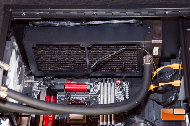EKWB Predator 240 Radiator Installed