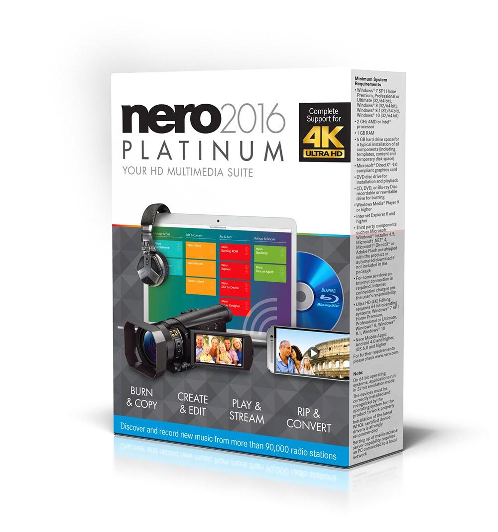 Nero platinum 2016 скачать