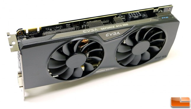 EVGA GeForce GTX 950 2GB FTW