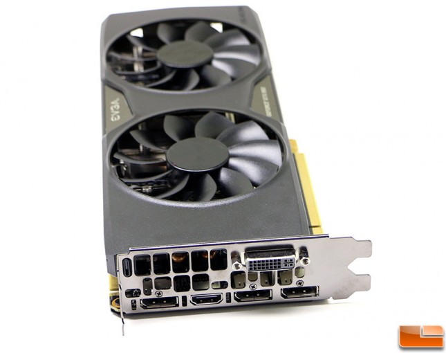 EVGA GTX 950 Video Outputs