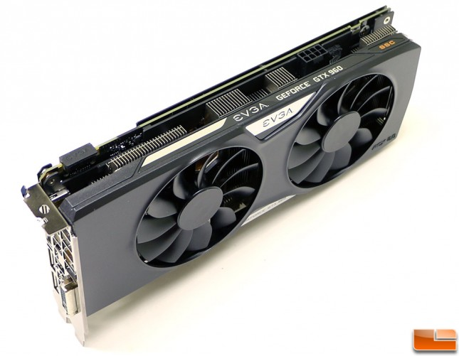 EVGA GeForce GTX 960 SSC 4GB Angle