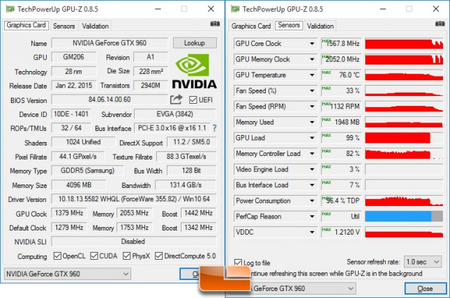 EVGA GeForce GTX 960 SSC Overclock