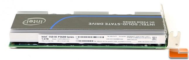 Intel SSD DC P3608 NVMe PCIe SSD Label