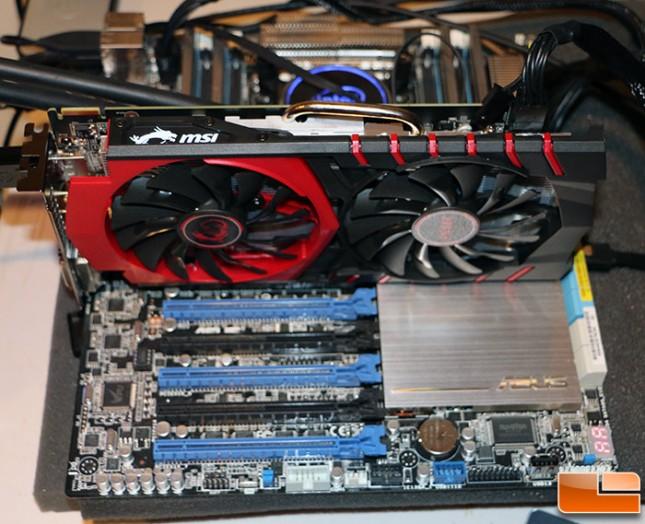 MSI Radeon R7 370 Test System