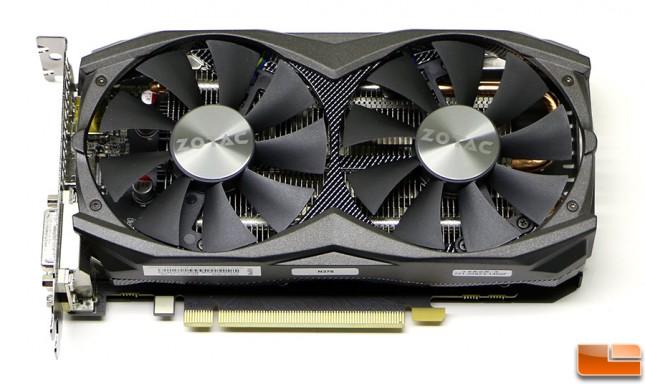 Zotac Geforce GTX 950 AMP! Front