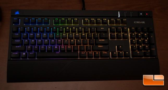 Corsair STRAFE RGB Lighting Effect