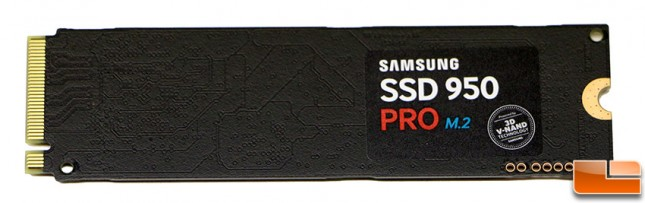 Samsung SSD 950 Pro M.2 PCIe SSD PCB
