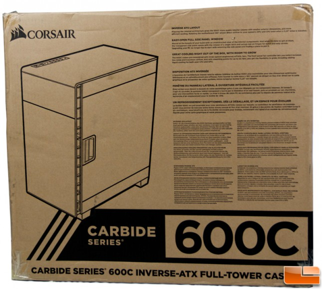 Corsair Carbide 600C Bottom