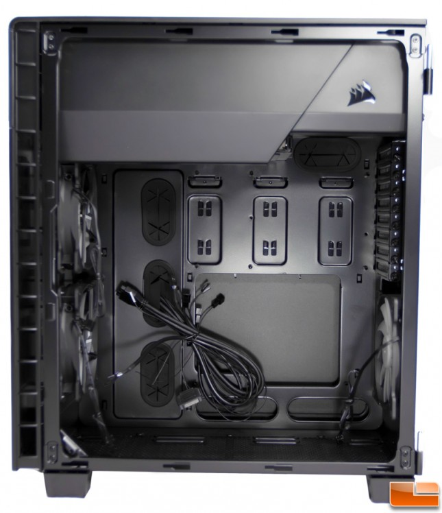 Corsair Carbide 600C Right Interior