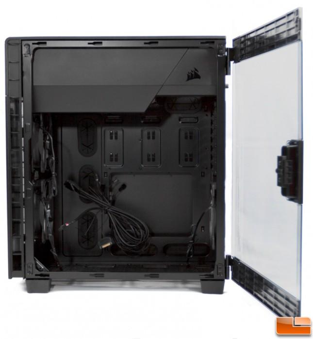 Corsair Carbide 600C Right Side Open