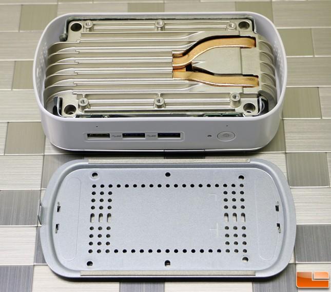 ECS LIVA X2 Heatsink