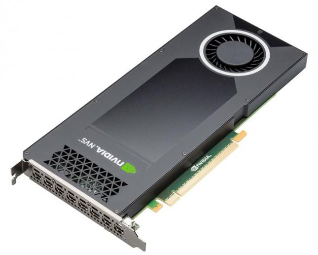 NVIDIA NVS 810 graphics board