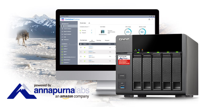 QNAP TS-531P 5-Bay NAS Released With 10GbE and Quad-Core ARM