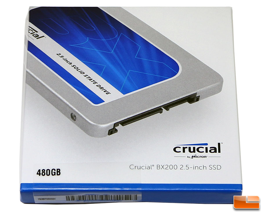 Crucial BX200 480GB SATA 2.5-Inch SSD Review - Legit ReviewsCrucial BX200 SSD - Affordable Entry ...