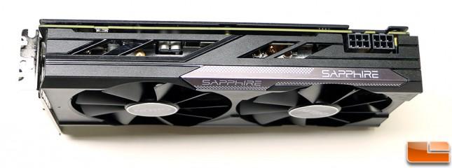 Sapphire Radeon R9 380X Nitro OC Video Card Top