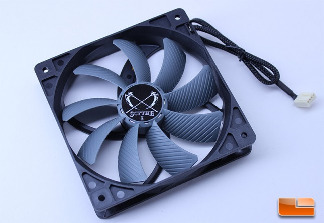 Scythe Ninja 4 GlideStream 120mm fan