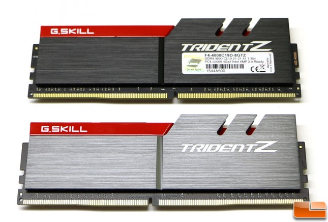 G.SKILL TridentZ Series 8GB (2 x 4GB) 288-Pin DDR4 SDRAM DDR4 3000 (PC4 24000) Intel Z170 Platform / Intel X99 Platform Desktop Memory Model F4-3000C15D-8GTZB (1) compare G.SKILL TridentZ Series 8GB 4000MHz DDR4 Memory Kit
