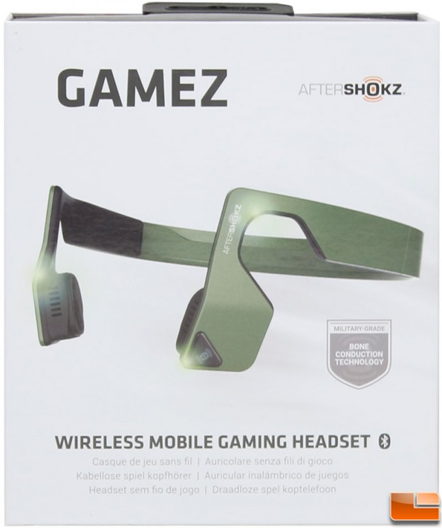 AfterShokz Gamez Box