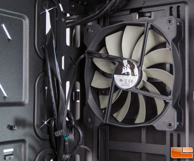 Corsair Carbide 400Q Intake Fan