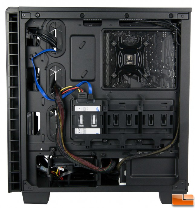 Corsair Carbide 400Q Build Right Side