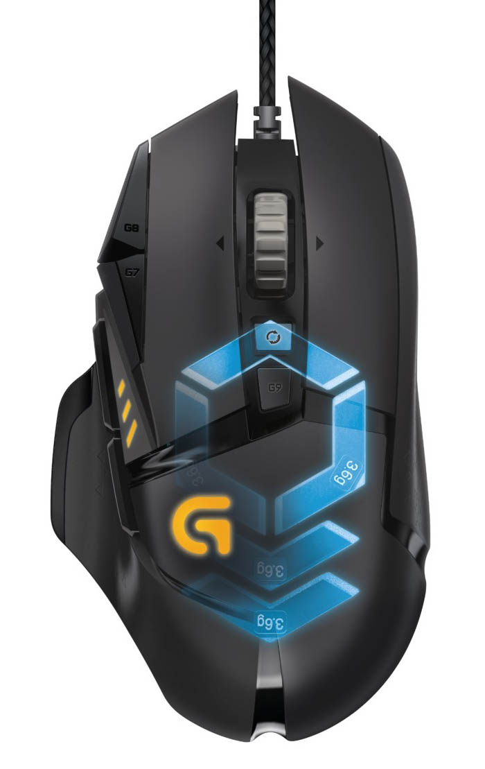 logitech g502 proteus spectrum rgb gaming mouse announced. Black Bedroom Furniture Sets. Home Design Ideas