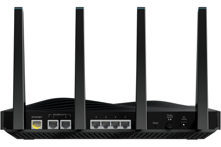 Netgear R8500 Router Back