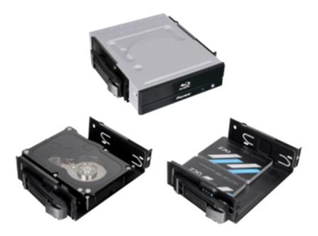 Thermaltake Core X71 - 5.25-Inch Bay Configs