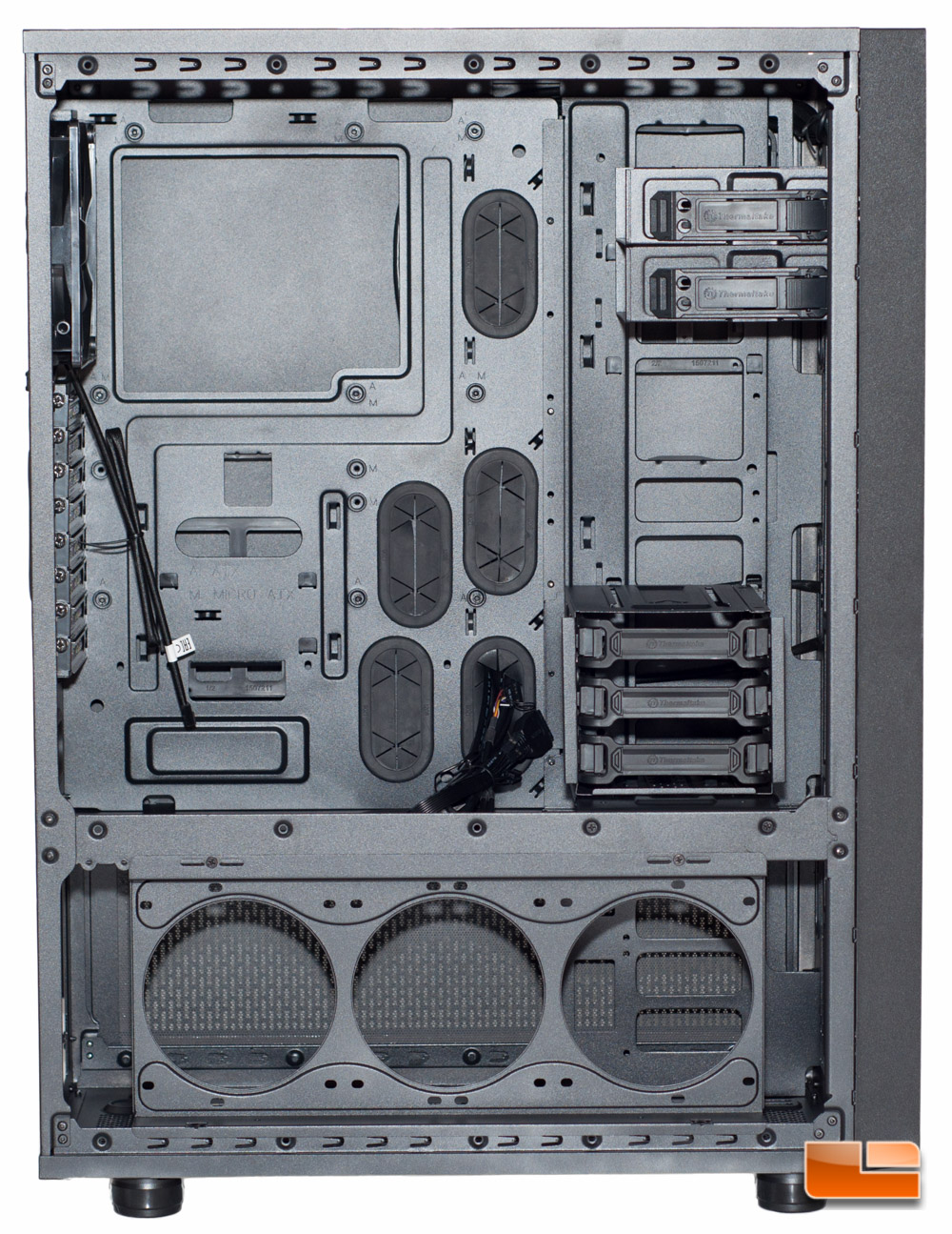 Thermaltake Core X71 5 thermaltake core x71 full tower chassis review page 3 of 5