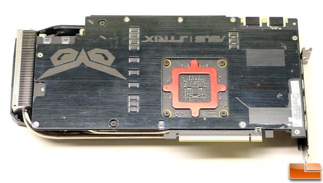 ASUS GeForce GTX 980 Ti Strix Back