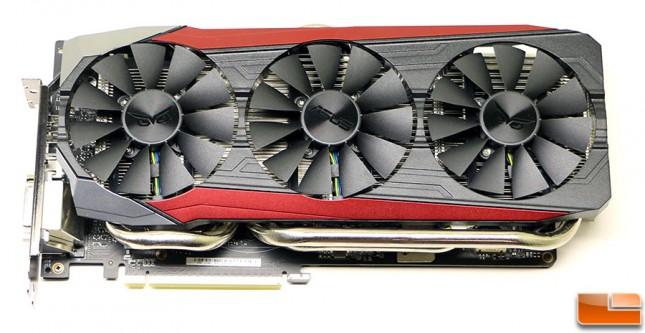 ASUS GeForce GTX 980 Ti Strix Front