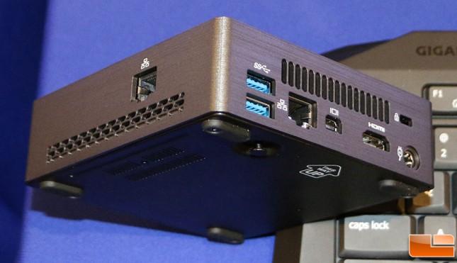 Gigabyte Brix Dual Gigabit LAN