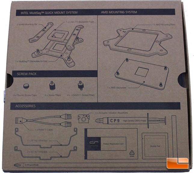 Cryorig R1 Ultimate accessory box