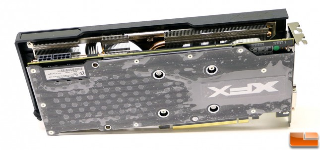 XFX Radeon R9 390 8GB Video Card Back